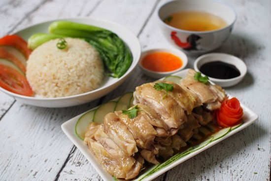 Rice Cooker Hainanese Chicken Rice Recipe | Sadia Singapore